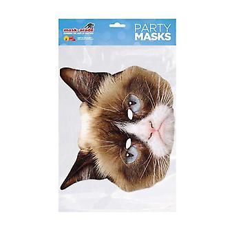 Grumpy Cat Card Mask
