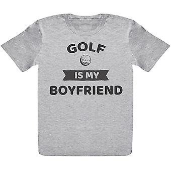 Golf Is My Boyfriend- Kids T-Shirt