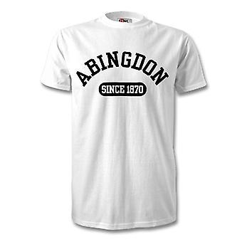 Абингдон 1870 создано футбола футболку