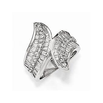 Cheryl M 925 Sterling Silver CZ Cubic Zirconia Gesimuleerde Diamond Fancy Ring Sieraden Geschenken voor vrouwen - Ring Grootte: 6 tot 8