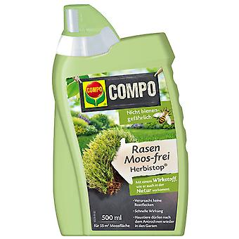 COMPO Lawn Moss-Free Herbistop®, 500 ml