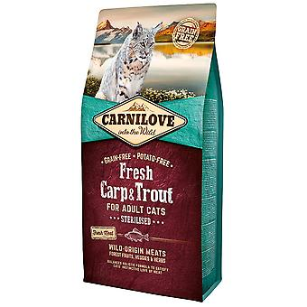 Carnilove Fresh Carp & Trout Sterilise (Cats , Cat Food , Dry Food)