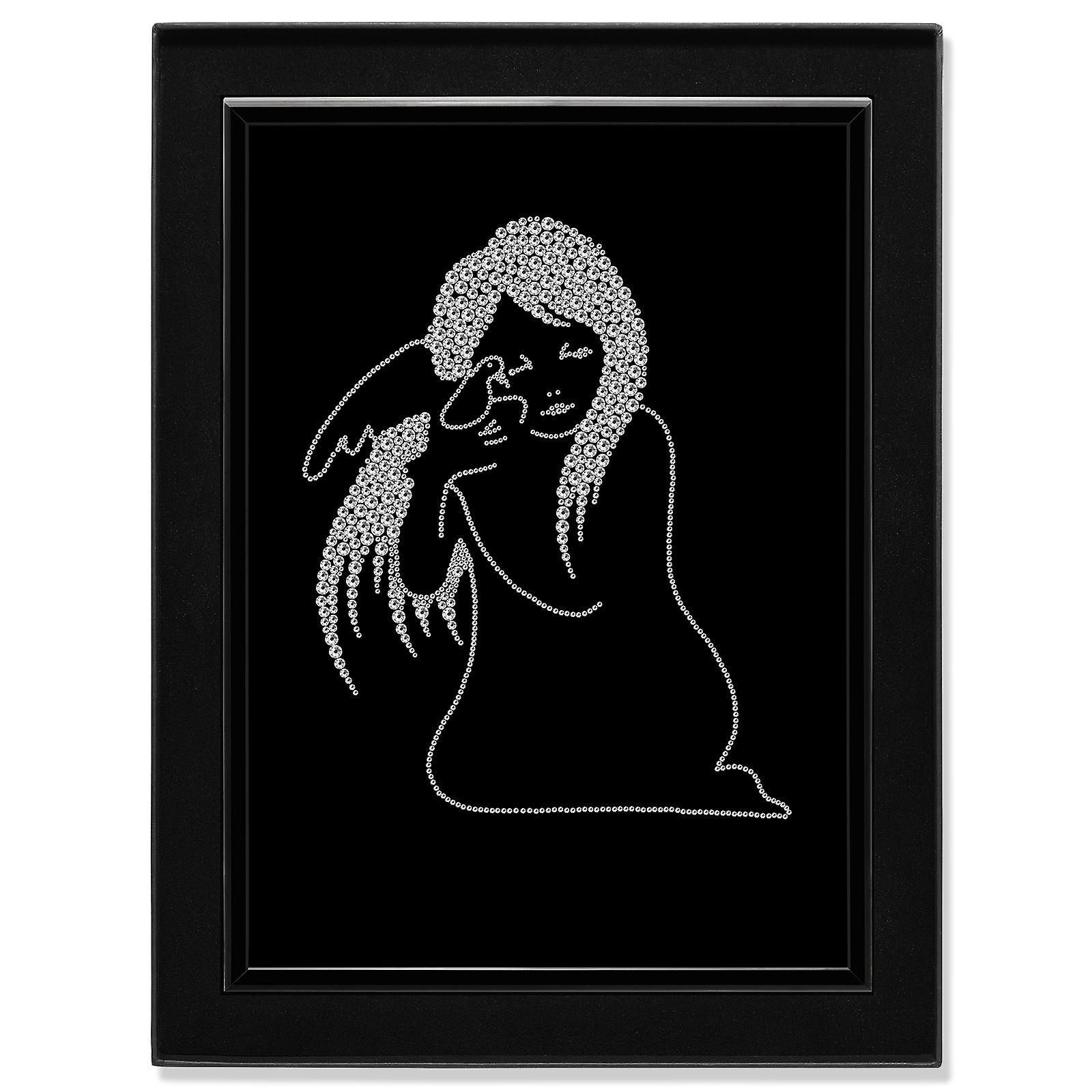 Crystal Art Picture Angel MBP-29