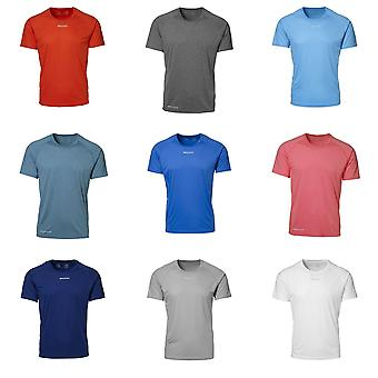 ID Mens Active Sport Short Sleeve Geyser T-Shirt