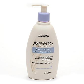 Soulager le stress Aveeno hydratant lotion, 12 oz