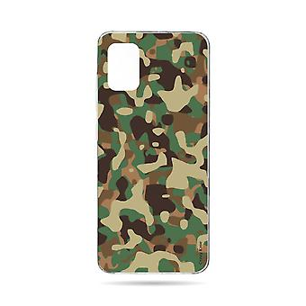 Hull For Samsung Galaxy A71 Flexible Military Camouflage