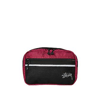 Stussy Stock Ripstop Waist Bag Plum