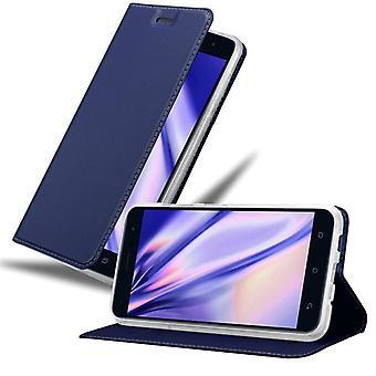 Cadorabo fall för Asus ZenFone 3 fall fallskydd - mobiltelefon fall med magnetiska lås, stå funktion och kortfack - Case Cover Skyddande fall Bok Vikning Style