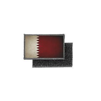 Patch ecusson prints vintage badge Qatari qatari flag