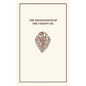Minor Poems of Vernon MS by C. Horstmann - 9780859918541 Book
