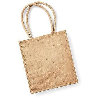 Westford Mill Jute Boutique Shopper Bag (19L)