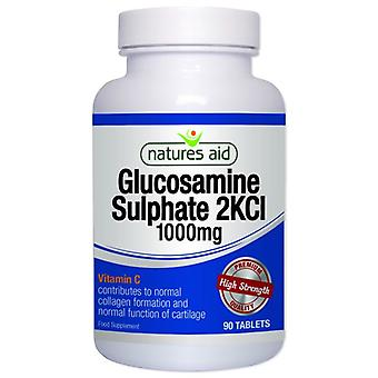 Nature's Aid Glucosaminsulfat 1000mg (mit Vitamin C) Tabletten 90 (16130)