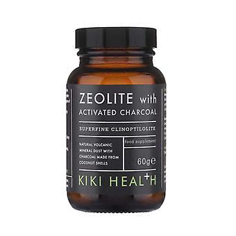 Kiki Health Zeolite Powder with Activated Charcoal 60g