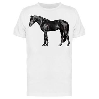 Cavalo em pé ao lado tee menos;s -Imagem por Shutterstock Men's T-shirt