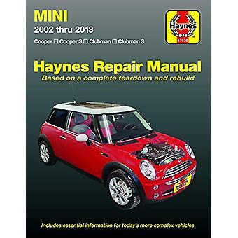 MINI ('02-'13) by Haynes - 9781620923160 Book