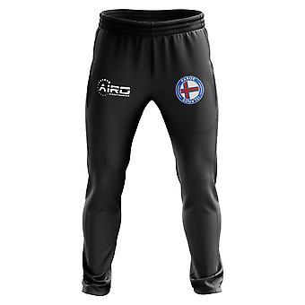 Faroe Islands Concept Football Training Pants (Black)