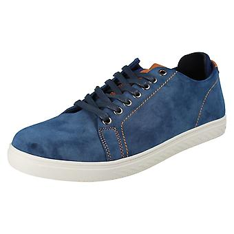 Mens Reflex Lace Up Casual Schoenen