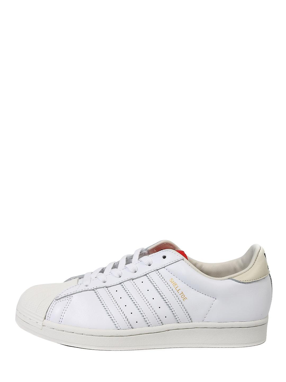Adidas X 424 Fw7624 Baskets en cuir blanc Pour Homme