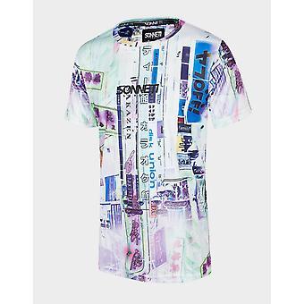 New Sonneti Kids' Neon Short Sleeve T-Shirt White
