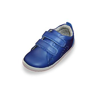 Bobux step up grass court blueberry trainer shoes