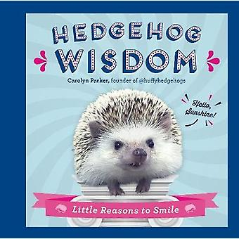 Hedgehog Wisdom - Little Reasons to Smile by Carolyn Parker - 97807858