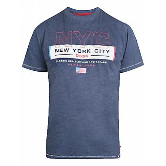 DUKE Duke New York City Print T Shirt