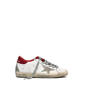 Ganso dourado Gwf00102f00014110218 Women's White/red Leather Sneakers