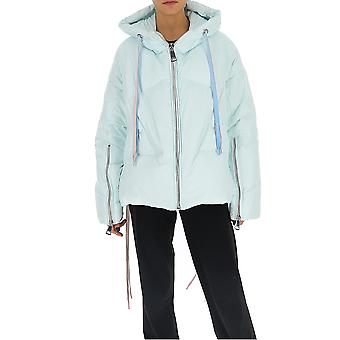 Khrisjoy Bsw023nyice Women-apos;s Light Blue Nylon Down Jacket