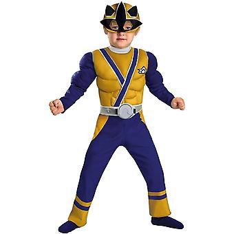 Power Rangers guld Ranger småbarn dräkt