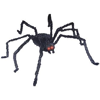 Animated Prop Black Spider 49 inches