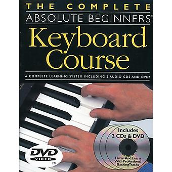 Complete Absolute Beginners Keyboard Course [DVD] USA import