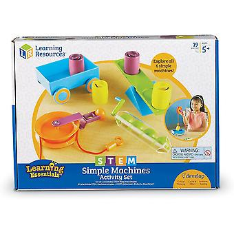 Learning Resources - STEM - Simple Machines Activity Set