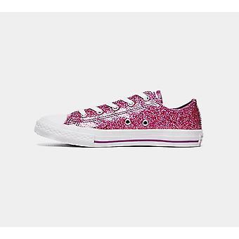 Converse Ctas Ox 662344C Violet Girls Shoes Boots