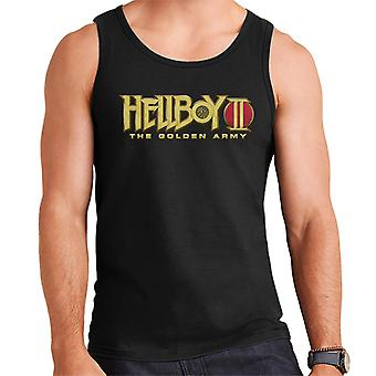 Hellboy II The Golden Army Logo Men's Vest