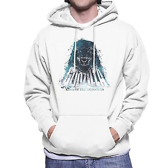 Godzilla Blue Flame Men's Hooded Sweatshirt