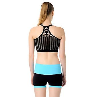Jerf Womens Huella Black Sports Bra