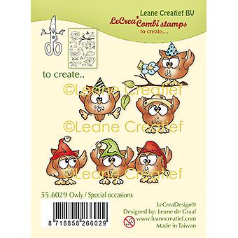 Leane Creatief Owly Special Occasions Clear Stamp