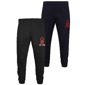 Nottingham Forest FC Officiële Gift Boys Slim Fit Fleece Joggers Jog Pants