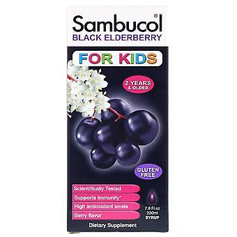 Sambucol, Sirop de sureau noir, Pour enfants, Saveur de baies, 7,8 fl oz (230 ml)