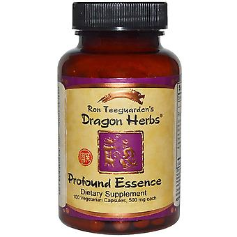 Dragon Herbs, Profound Essence, 500 mg, 100 Veggie Caps