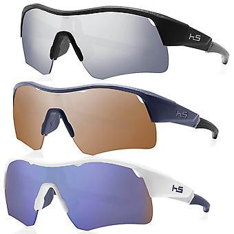 Henrik Stenson Mens Iceman Anti-Scratch Mirrored Golf Sunglasses