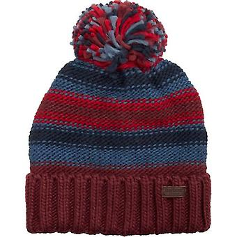 Barbour Harrow Striped Knitted Beanie