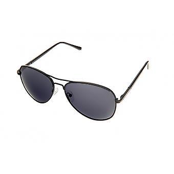 Solglasögon Unisex Pilot svart/blå (PZ20-007)