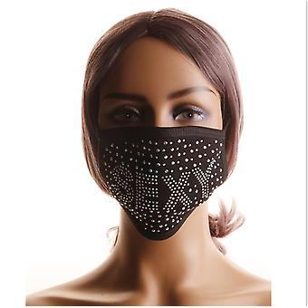 mask Sparkling Masquerade Mask Bandana Decorative Face