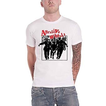Abrasive Wheels T Shirt Juvenile Band Logo new Official Punk Mens White