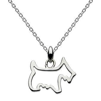 Dew sterling zilver Scotty Dog hanger 9041HP014