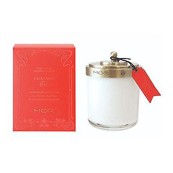 Mor Fragrant Candle 380G Cyclamen And Lily