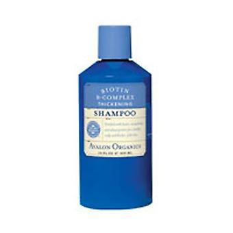 Avalon Organics Shampoo Biotin B-Complex - Thickening, 14 Oz
