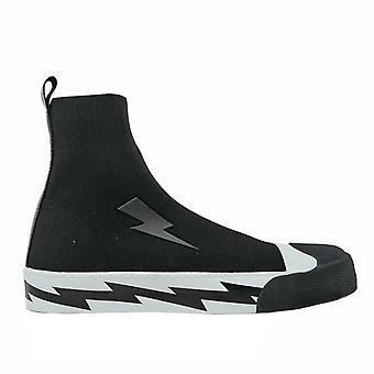 Neil Barrett Razor Bolt Sock Skater Sneakers