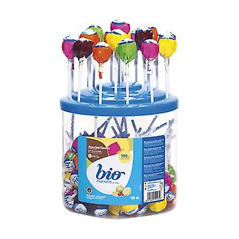 Round Candy with Stick 100 units